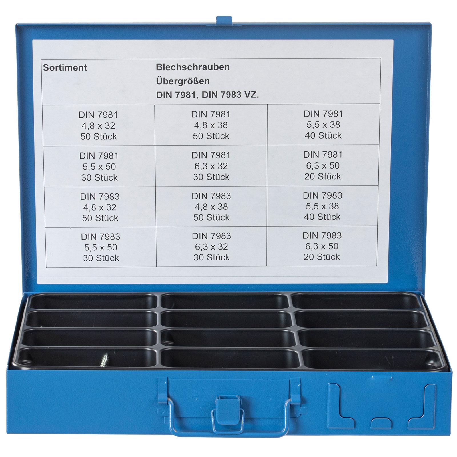 Linsensenk-Blechschraube DIN 7983 Edelstahl A2 Form C-H 3,5 x 16-100 St/ück